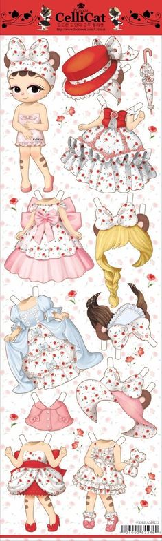 32 Ideas doll clothes handmade album for 2019 Paper Dolls Clothing, Doll Clothes, Diy And Crafts, Paper Crafts, Paper Dolls Printable, Holly Hobbie, Easy Craft Projects, Vintage Paper Dolls, New Dolls