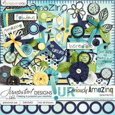 Seriously Amazing ~ Elements ~ by Jumpstart Designs 20% off for a limited time!!!