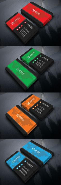 Dark Business Card. Business Card Templates. $5.00