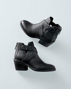Eileen Fisher Derby Short Boots