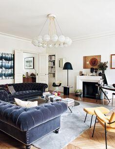 Paris Apartment by Sandra Benhamou | HomeDSGN
