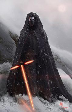 Kylo Ren - Star Wars: The Force Awakens - Kyle Grech