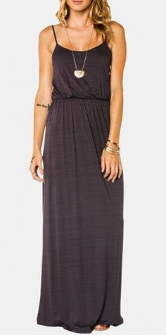 Lynnette Maxi Dress in Grey