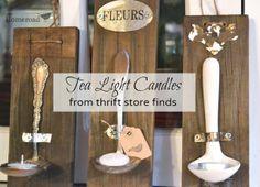 Tea light candles www.homeroad.net