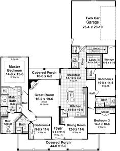 Aspen Landing House Plan 1 story 62 x 80.25 needs adjusting! in entryway, pantry,garage