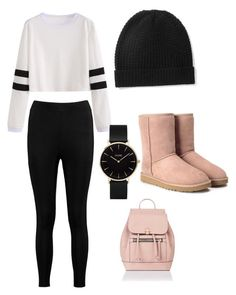 How To Wear Outfits for School by coolduckduck67 on Polyvore featuring polyvore, fashion, style, Boohoo, UGG, Accessorize, CLUSE, Madeleine Thompson and clothing