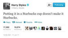 My favorite Harry styles tweet ever made
