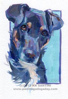 54 Oil Painting With Dog Drawing Ideas - Art Animal Paintings, Animal Drawings, Pet Drawings, Sketch Painting, Watercolor Animals, Dog Portraits, Dog Art, Artist Art, Illustration Art