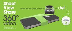 An 360° lens for your #iphone let's you record interesting videos for $49. See what this #gadget does after the click. // pinned by @welkerpatrick