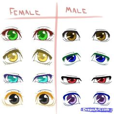 How To Draw Male Anime Eyes Background 1 HD Wallpapers | Planezen ...