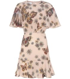 mytheresa.com - Printed Silk Dress - Valentino   mytheresa - Luxury Fashion for Women / Designer clothing, shoes, bags