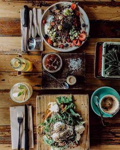 Where the influencers eat, sleep & shop in Byron Bay The Atlantic Byron Bay, Giant Sunflower, Tomato Relish, Wood Fired Oven, Halloumi, Smoked Paprika, Edible Garden, Eat Sleep, The Hamptons