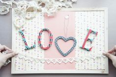 DIY your own pretty signage decoration for your wedding reception, that doubles up as a memo board for all of your love notes! Keep the memories of every sweet moment in sight. Follow this easy tutorial here: http://singaporebrides.com/articles/2012/12/diy-of-the-month-love-notes/