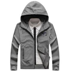 AFS JEEP Men's Hooded Zip Up Jacket