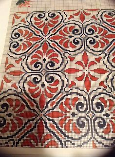 Cross Stitch Floss, Cross Stitch Boards, Cross Stitching, Cross Stitch Embroidery, Embroidery Patterns, Cross Stitch Designs, Cross Stitch Patterns, Cross Stitch Cushion, Palestinian Embroidery