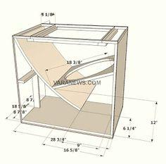 Skema Box Speaker B&C 21 inch Lapangan