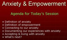 Via Scoop.it – Anxiety: An opportunity to learn about yourself and others Live online event on anxiety and empowerment on WizIQ…Show original