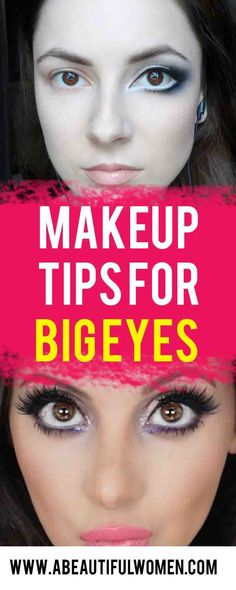 how to make your eyes look bigger. how to make your eyes look bigger with makeup . how to make your eyes look bigger naturally . how to make your eyes look bigger tips. Simple Makeup Tips, Makeup Tips For Beginners, Eye Makeup Tips, Big Eye Makeup, Makeup Ideas, Beginner Makeup, Makeup Inspo, Beauty Make-up, Best Beauty Tips