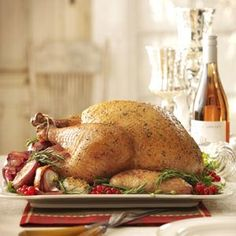 Rosemary Roasted Turkey
