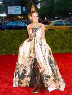 Sarah Jessica Parker 2013 Met Gala Best Dressed