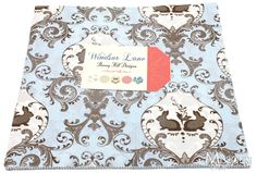 Blue Windsor Lane Junior Layer Cake from Missouri Star Quilt Co