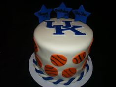Kentucky Wildcat's cake for my mom.