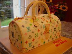 Brigittes Tortendesign: Louis Vuitton cake Multicolore mit Tutorial/Anleitung