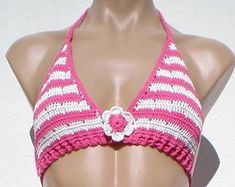 BIKINI CROCHET SWIMWEAR Ref:B006F by Teresarte on Etsy