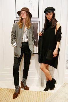 Pin for Later: Designer, Blogger und Stars liebten diesen Schuh bei der New York Fashion Week Loafer Schuh Trend 2016 Polo Ralph Lauren Herbst/Winter 2016