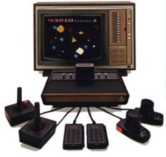 Atari...my daughters had one given to them.  Wonder how they'd feel if I teased them that their toys were now too a thing of the past lol.