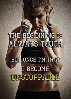 Tough it out...