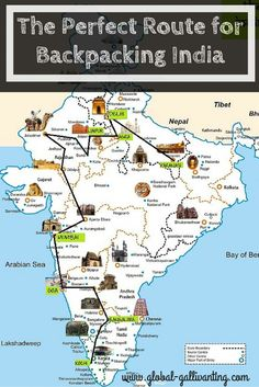 The Perfect Route for Backpacking India  www.travel4life.club