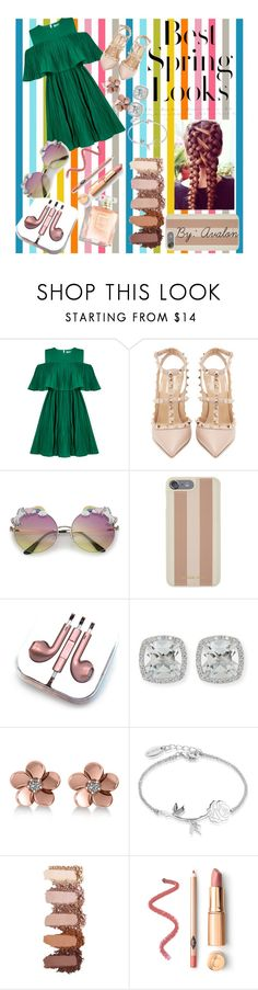 """""""Avalon's Look Book #1"""" by lilaparks on Polyvore featuring Jovonna, Valentino, H&M, Michael Kors, PhunkeeTree, Frederic Sage, Allurez and Disney"""
