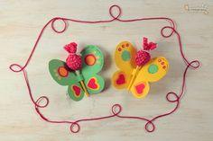 Butterflies for children party -Lembrancinha de borboletas para festa infantil