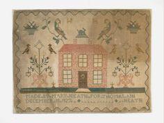 Made by Mary Heath for Thomas Ann, December 18th, 1827