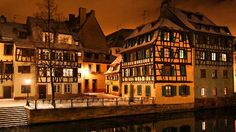 """The more historic district of Strasbourg includes this beautiful neighborhood area named """"Petit France"""". It was constructed in the medieval era and contains many premier dining restaurants. This quaint little sector of Strasbourg is beautiful, and quite famous. (Obviously it does not cost anything to go, and is always open.)"""