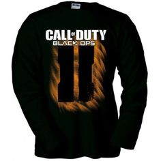 Camiseta Call of Duty Black Ops 2 Simbolo II manga larga (Talla: Talla M Unisex Ancho/Largo [53cm/72cm] Aprox]) #camiseta #friki #moda #regalo