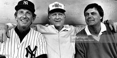 New York Yankees. (l. to r.) <a gi-track='captionPersonalityLinkClicked' href=/galleries/search?phrase=Billy+Martin&family=editorial&specificpeople=93150 ng-click='$event.stopPropagation()'>Billy Martin</a>, <a gi-track='captionPersonalityLinkClicked' href=/galleries/search?phrase=George+Steinbrenner&family=editorial&specificpeople=220576 ng-click='$event.stopPropagation()'>George Steinbrenner</a> and <a gi-track='captionPersonalityLinkClicked'…