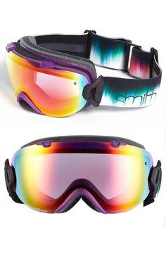 fa09e41653526 Smith I OS ChromaPop Snow Goggles Patina Split Awesome women s ...
