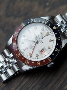 Rolex 6542 GMT - Extremely Rare White dial