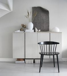 My interior crush Ikea Inspiration, Living Room Inspiration, Beautiful Interiors, Colorful Interiors, Living Room Modern, Living Room Designs, Ikea Ivar Cabinet, My Room, Furniture Makeover