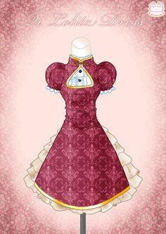 Qi Lolita Dress by *Neko-Vi on deviantART