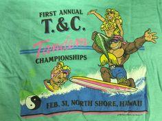 Vintage 80's T&C Surf T-Shirt