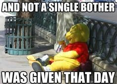 Drunk Pooh Bear