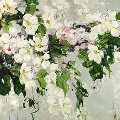 ❀ Blooming Brushwork ❀ - garden and still life flower paintings - Bobbie Burgers | Your Fragrance
