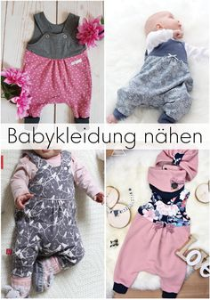 Sew DIY romper - Babykleidung nähen mit Schnittmuster - Nothing looks cuter on little baby girls and boys than rompers – so you should sew at least one fo - Sewing Baby Clothes, Cute Baby Clothes, Baby Sewing, Diy Clothes, Clothes Storage, Sewing Diy, Fashion Kids, Baby Girl Fashion, Fashion Outfits