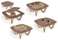 1000 id es sur table d 39 checs sur pinterest table de - Table basse qui se transforme en table haute ...