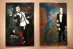 Blek le Rat. Haven't seen his work in a while. Love it.