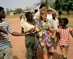 Martin Parr AFRICA. The Gambia. Juffure. From 'Small World'. 1991.