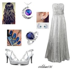 """""""Moonlight"""" by wildone196 ❤ liked on Polyvore featuring Michael Kors, Dyeables, Miu Miu, Bling Jewelry and kitsch island"""